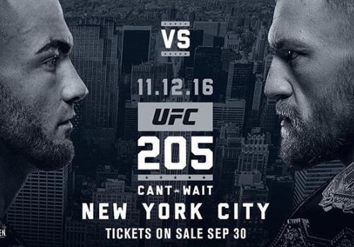 UFC 205: Alvarez vs. McGregor-ennakko