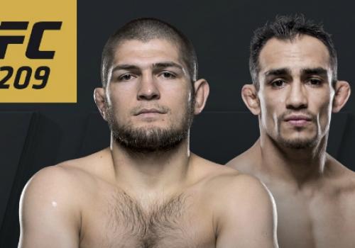 UFC 209: Nurmagomedov vs. Ferguson-ennakko