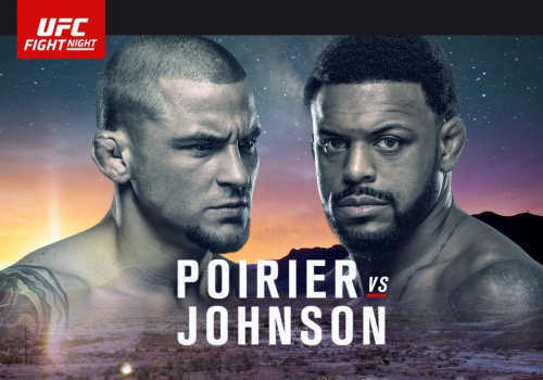 UFC Fight Night Texas: Poirier vs. Johnson-ennakko