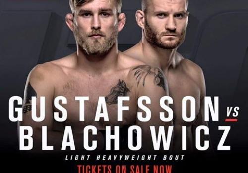 UFC Fight Night Hampuri: Alexander Gustafsson vs. Jan Blachowicz-ennakko