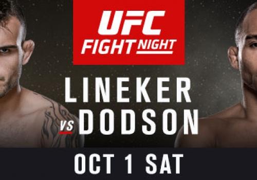 UFC Fight Night 96: Lineker vs. Dodson-ennakko