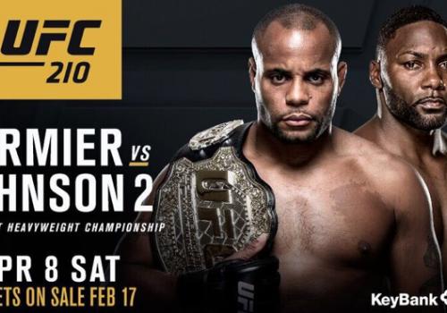 UFC 210: Cormier vs. Johnson -ennakko