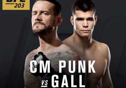 UFC 203: CM Punk vs. Gall-ennakko