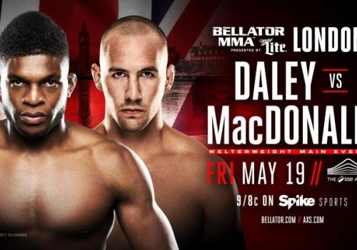 Bellator 179: MacDonald kuristi Daleyn Bellator-debyytissään