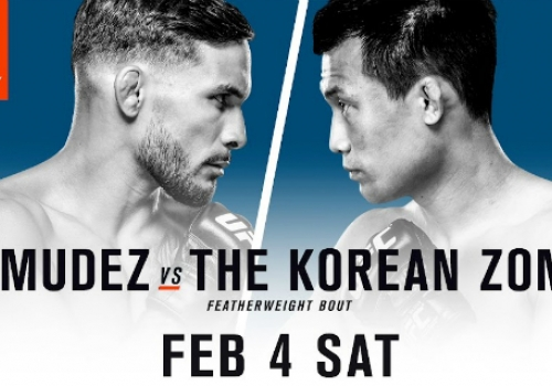 UFC Fight Night 104: Bermudez vs. Korean Zombie-ennakko
