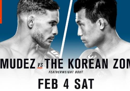 UFC Fight Night 104: Bermudez vs. Korean Zombie-ennakko