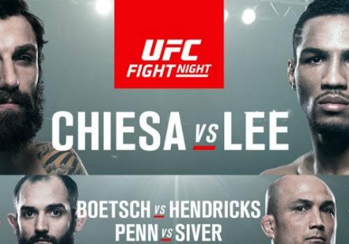 UFC FN Chiesa vs. Lee -tulokset: Mario Yamasaki pilasi pääottelun