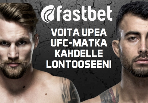 Voita matka Lontoon UFC Fight Night 107-tapahtumaan!