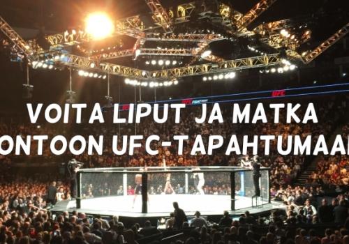 Parhaat kilpailut joista voit voittaa matkapaketin Lontoon UFC-tapahtumaan