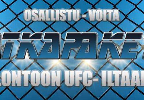 Voita matkapaketti Lontoon UFC-iltaan!