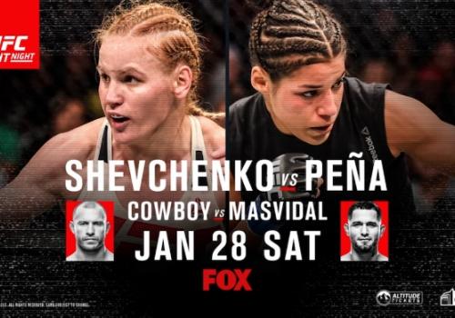 UFC on Fox 23: Schevchenko vs. Pena-ennakko