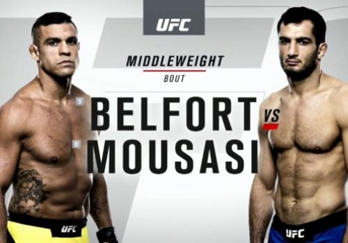 UFC 204: Belfort vs. Mousasi-ennakko