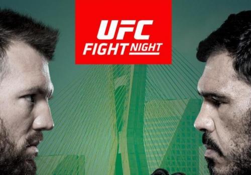 UFC Fight Night 100: Bader vs. Nogueira 2-ennakko